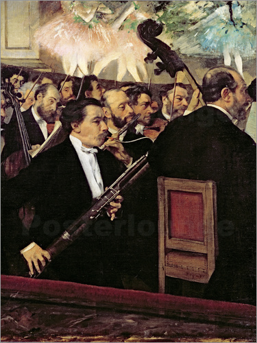 Edgar Degas - The Opera Orchestra