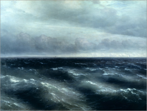 Ivan Konstantinovich Aivazovsky - The Black Sea