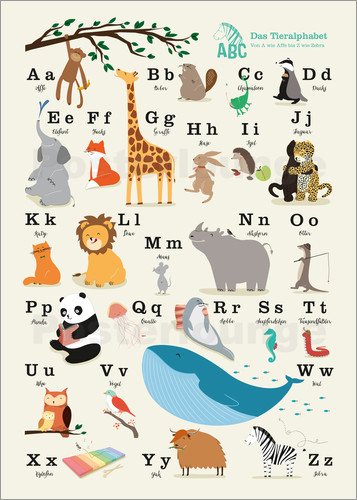 Sandy Lohß - animal alphabet (german)