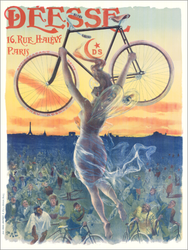 Poster Deesse bicycles