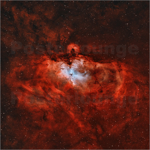 Rolf Geissinger - The Eagle Nebula in the constellation Serpens