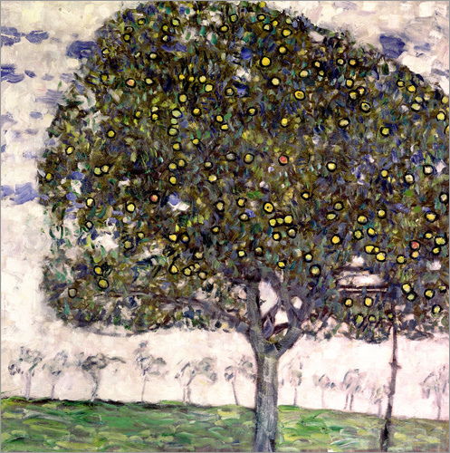Gustav Klimt - The Apple Tree II