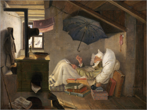 Carl Spitzweg - The Poor Poet
