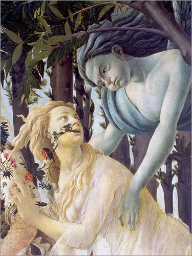 Sandro Botticelli - Spring, Cephir and the nymph Chloris