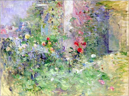 Poster The Garden at Bougival