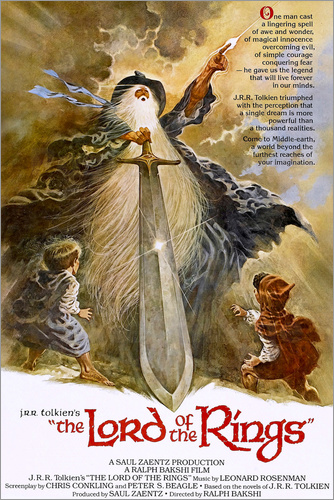 Poster Lord of the Rings