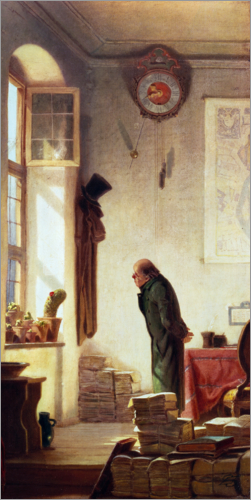 Carl Spitzweg - The Cactus Lover