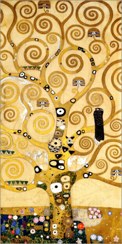 Gustav Klimt - The Tree of Life (central panel)