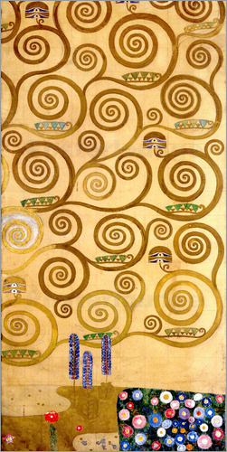 Gustav Klimt - The Tree of Life (right outer panel)