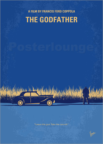 Poster My Godfather I minimal movie poster