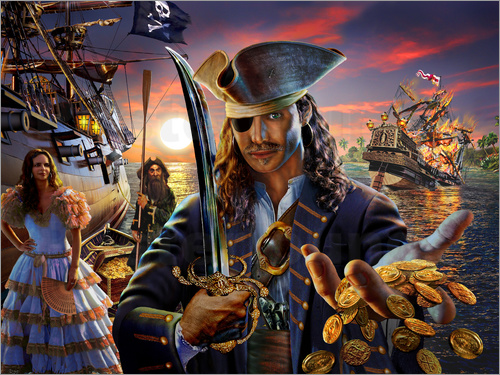 Adrian Chesterman - The pirate