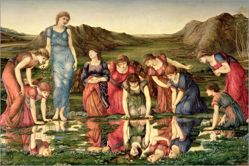Edward Burne-Jones - The Mirror of Venus