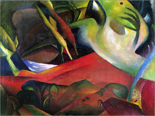 August Macke - The Storm