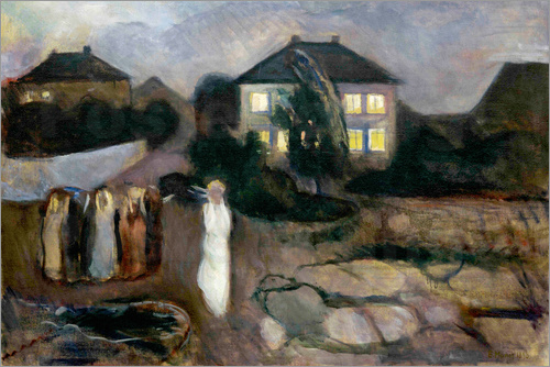 Edvard Munch - The storm