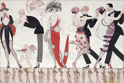 Georges Barbier - The Tango