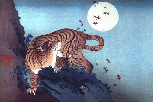 Poster The Tiger and the Moon