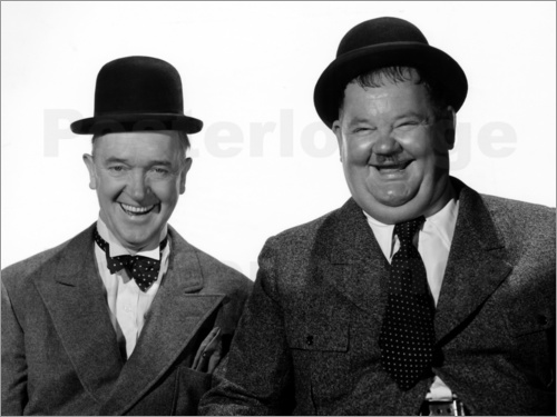 Poster Laurel and Hardy: Nothing but trouble