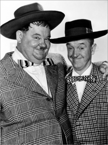 Poster JITTERBUGS, Oliver Hardy, Stan Laurel