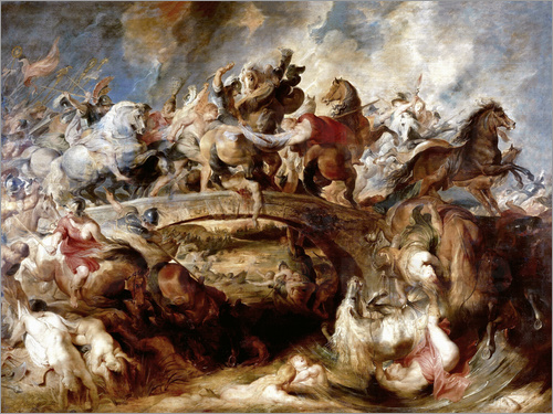 Peter Paul Rubens - Battle of the Amazons