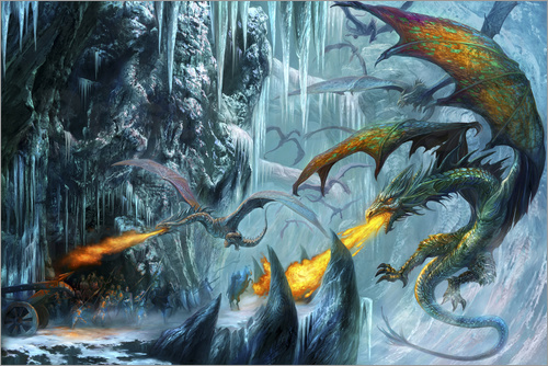 Dragon Chronicles - The cave