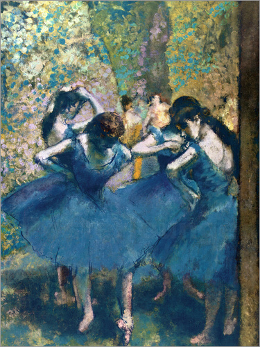 Poster The Blue Dancers