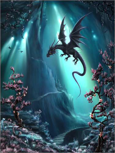 Poster The Dragon Caves of La Stilla