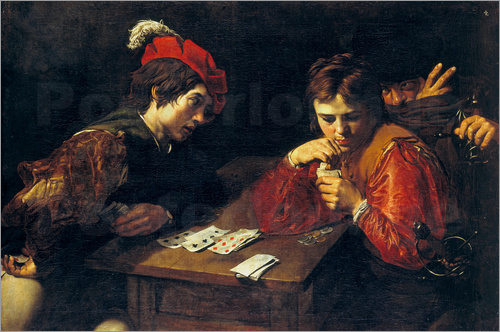 Valentin de Boulogne - The cheats, 1615-1618