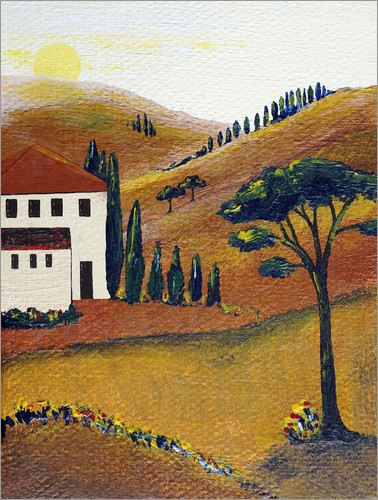 Christine Huwer - Colours of Tuscany