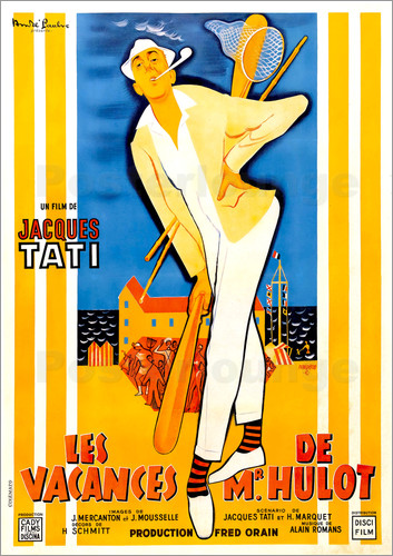 Poster Mr. Hulot's Holiday