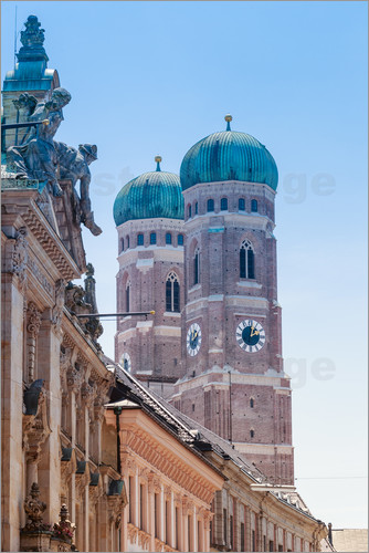 The Frauenkirche in Munich