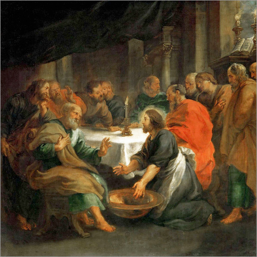 Peter Paul Rubens - The Washing of the Feet