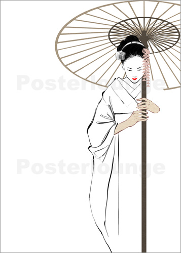 Poster The Geisha