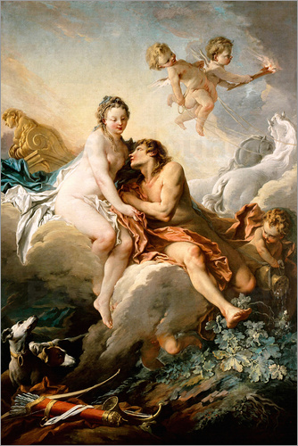 François Boucher - The Goddesses