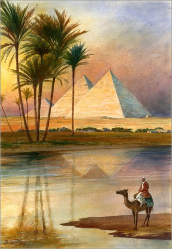 Poster The Great Pyramid of Giizeh