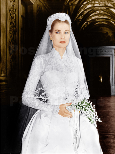 Poster The Wedding in Monaco, Grace Kelly