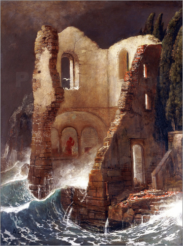 Arnold Böcklin - The Chapel