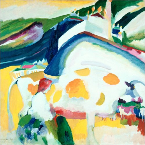 Wassily Kandinsky - The cow