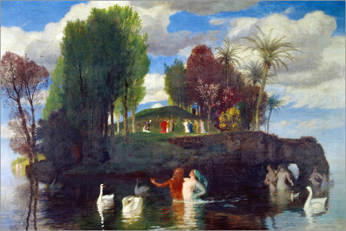 Arnold Böcklin - Island of the living