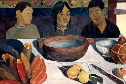 Paul Gauguin - The Meal, The Bananas