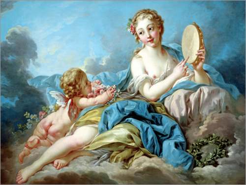 François Boucher - The Muse Terpsichore