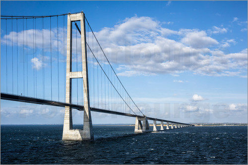 Rico Ködder - The Öresund bridge between Denmark and Sweden