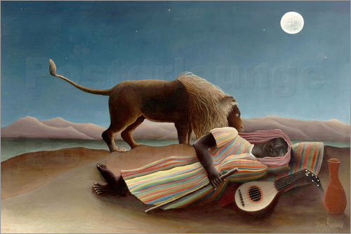 Henri Rousseau - The Sleeping Gypsy