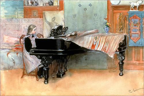 Carl Larsson - The scale