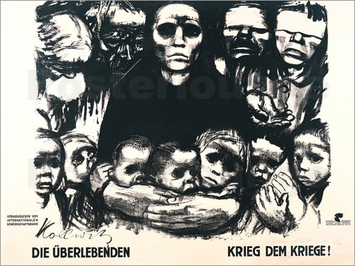 Käthe Kollwitz - The survivors