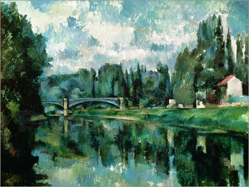 Paul Cézanne - The Banks of the Marne at Creteil