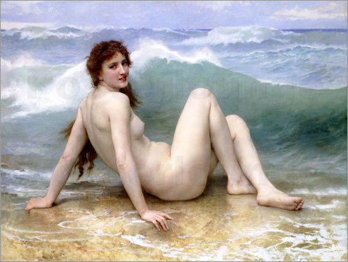 William Adolphe Bouguereau - The Wave
