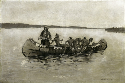 Frederic Remington - This Was a Fatal Embarkation