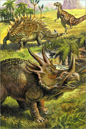 Poster Dinosaurs