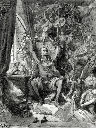 Gustave Doré - Don Quixote, a world of disorder