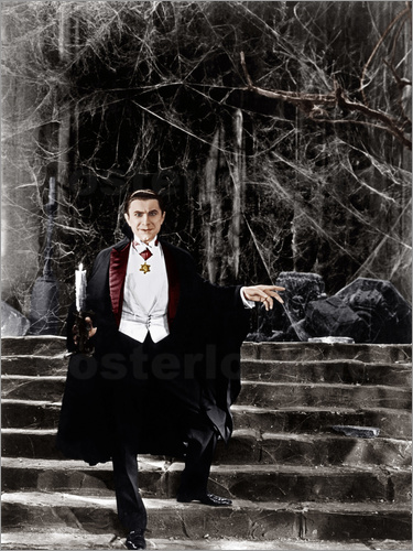 posters affiches de dracula bela lugosi 1931. Black Bedroom Furniture Sets. Home Design Ideas